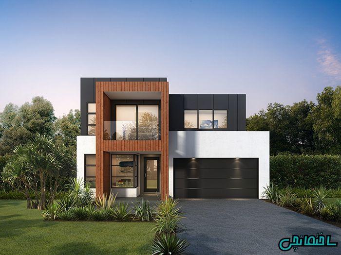 %عکس - انواع نمای مدرن ساختمان