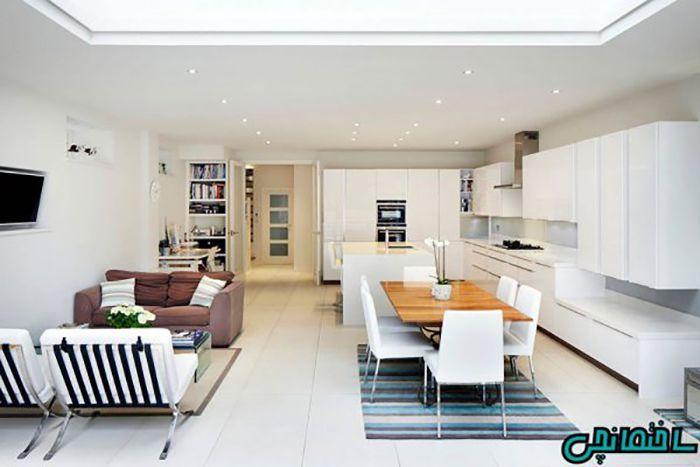 طراحی آشپزخانه اپن