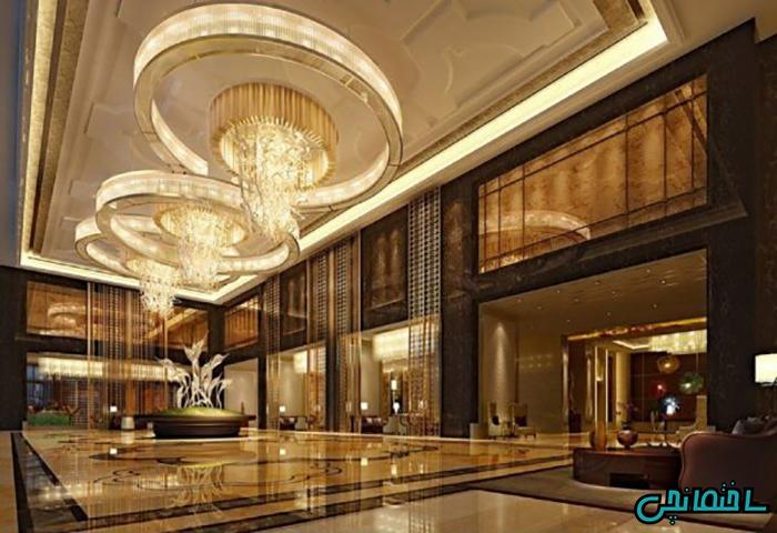 نورپردازی سالن