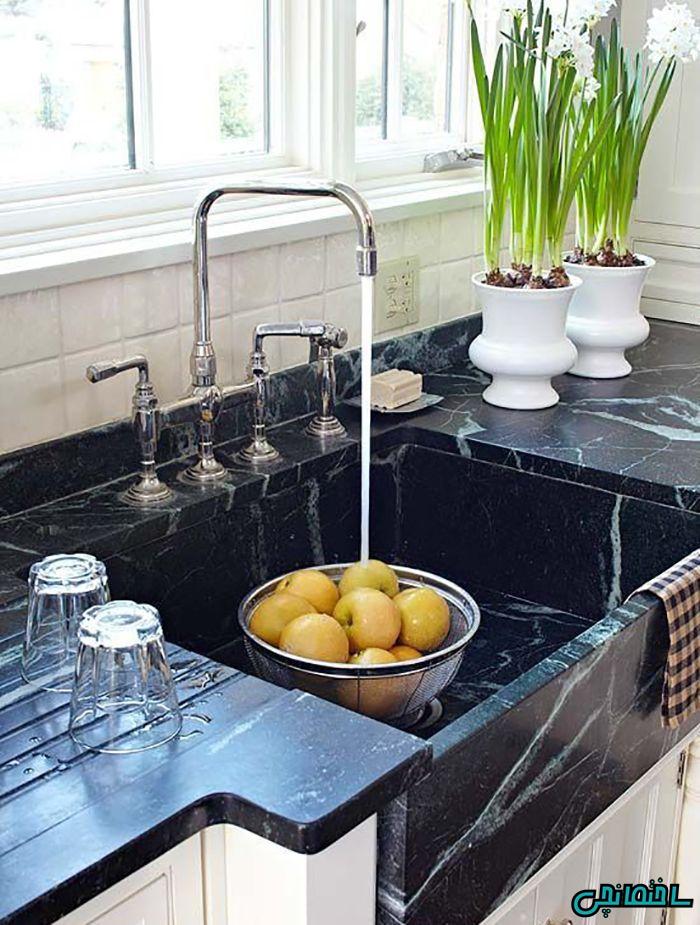 سینک ظرفشویی سنگ صابونی