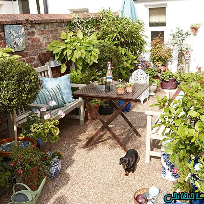 استفاده از گیاهان در باغ