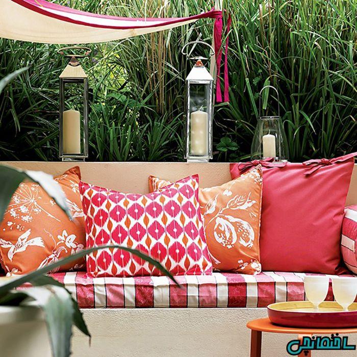 ایده طراحی باغ