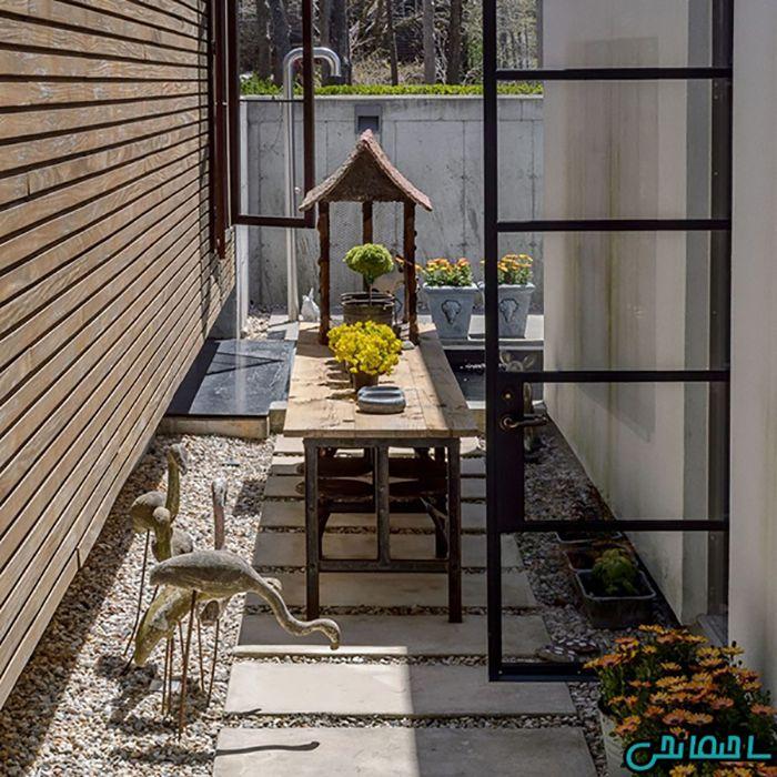 راهکار طراحی باغ