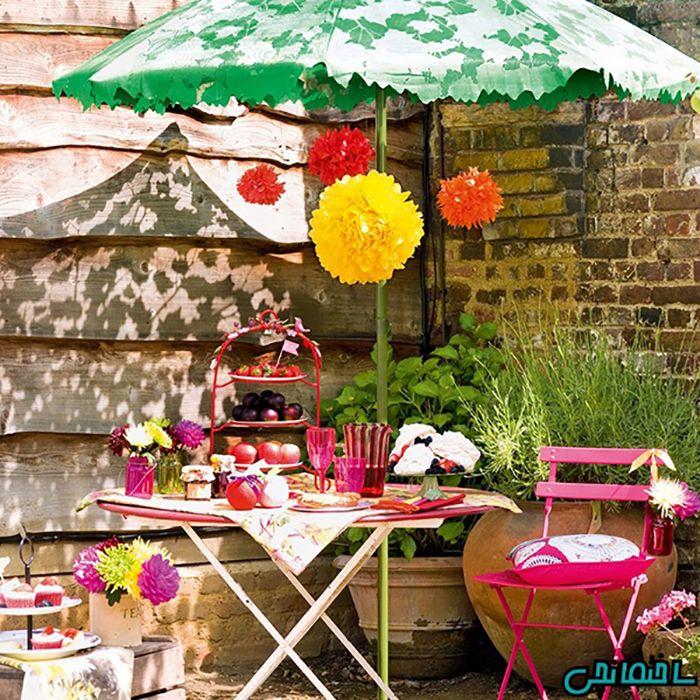 %عکس - جذاب ترین ایده های طراحی باغ ویلا کوچک