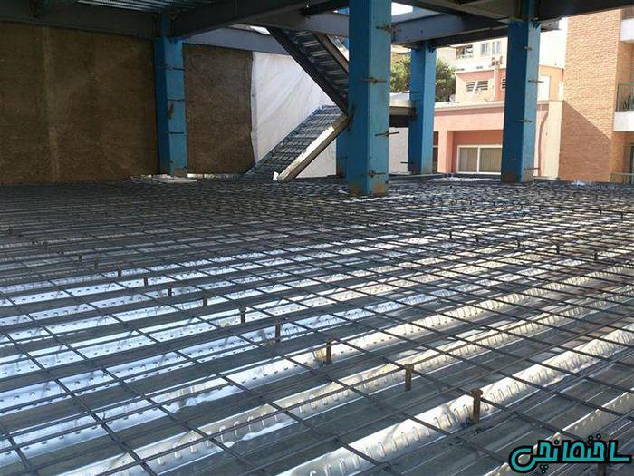 سقف عرشه فولادی