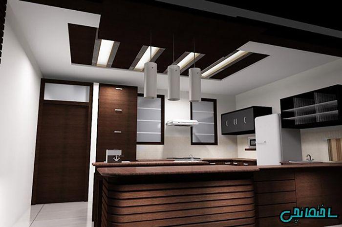 مدل کناف سقف آشپزخانه
