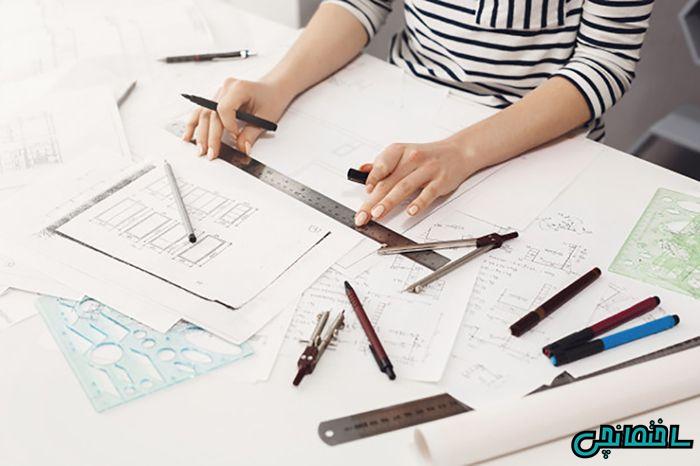 طراحی نقشه خانه