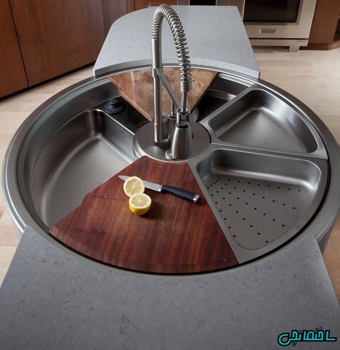 سینک ظرفشویی مدرن