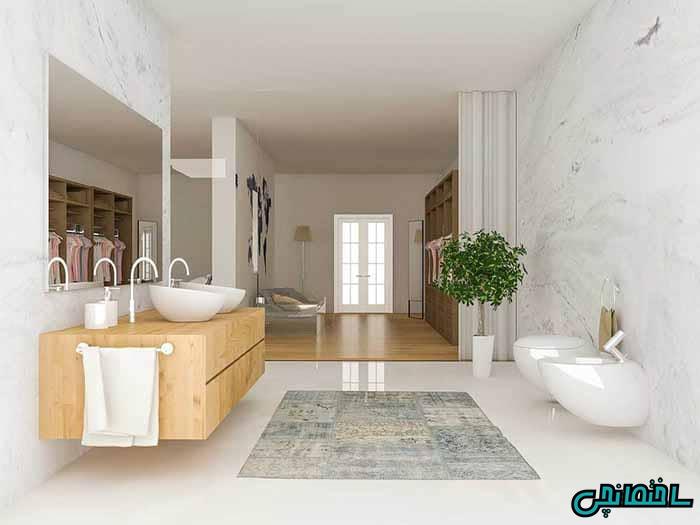 حمام بزرگ و زیبا