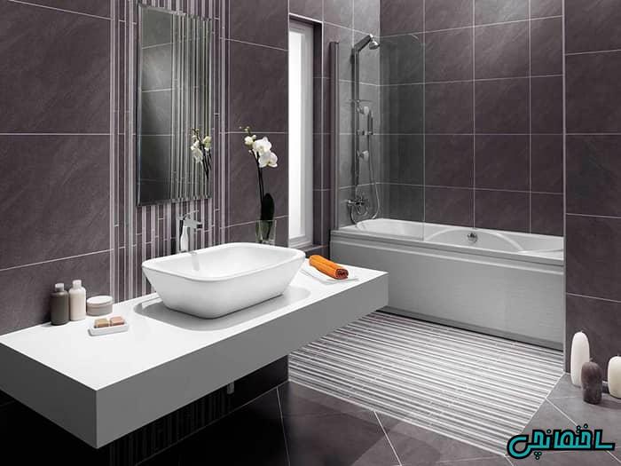 %عکس - تصاویر حمام های مدرن با سبک مینیمالیست