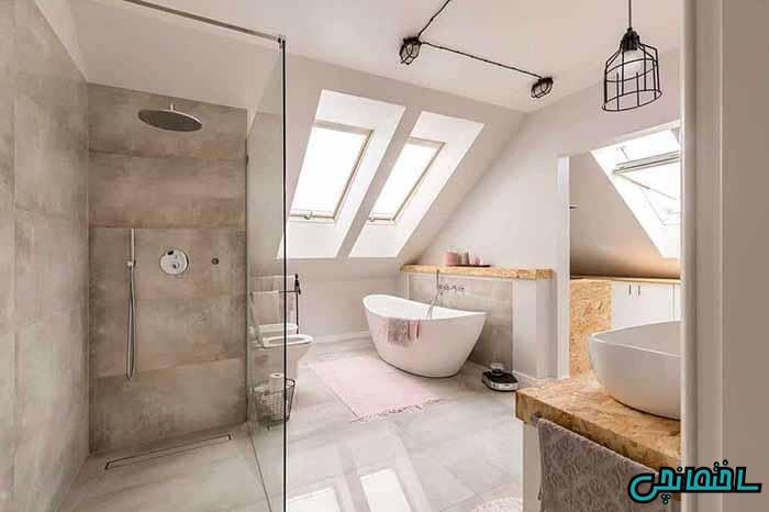 حمام زیرشیروانی