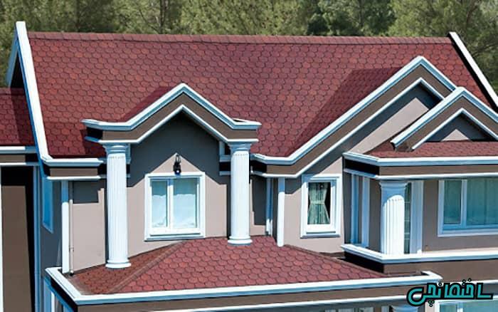 ویژگی های سقف شینگل
