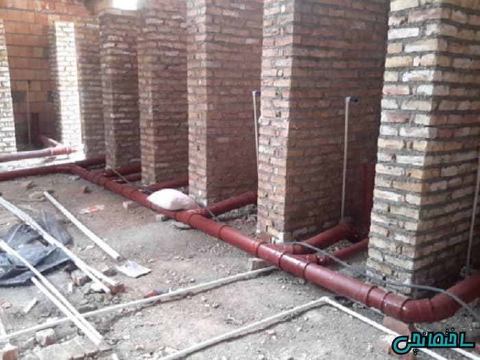 اصول مهم در لوله کشی ساختمان