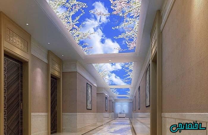 سقف مجازی راهرو