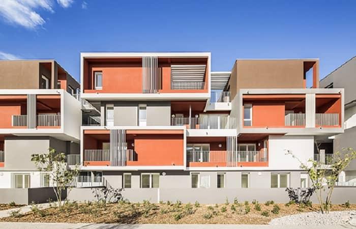 رنگ امیزی نمای ساختمان