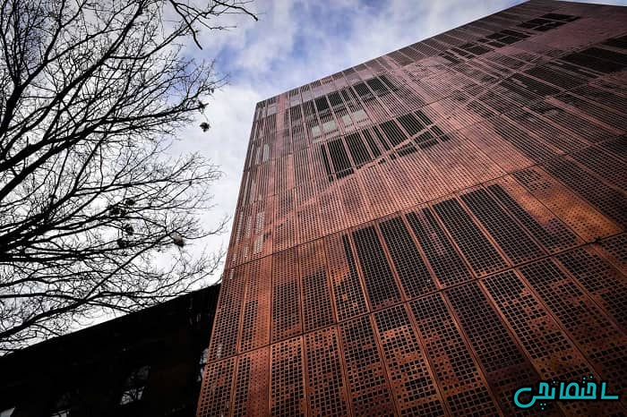 نمای مسی ساختمان
