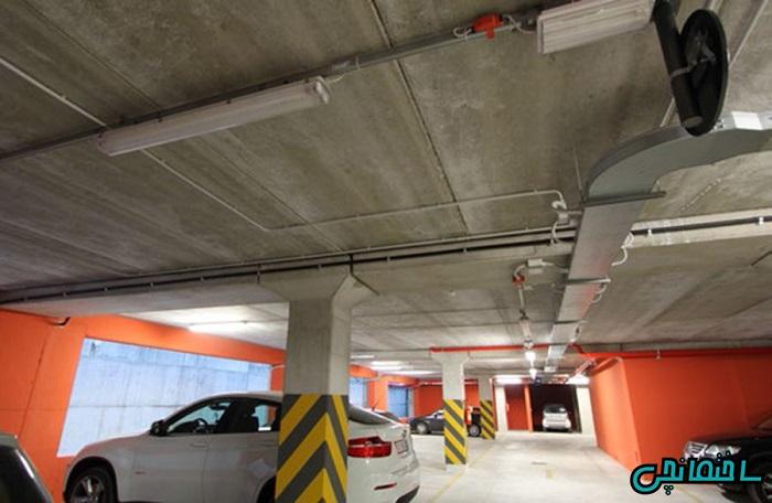 سقف پارکینگ هالوکور