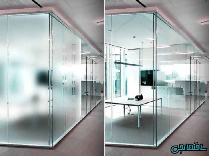 پارتیشن شیشه ای هوشمند
