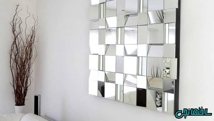 %عکس - راهنمای خرید آینه دکوراتیو[طرح کلاسیک، لوزی و دیواری]