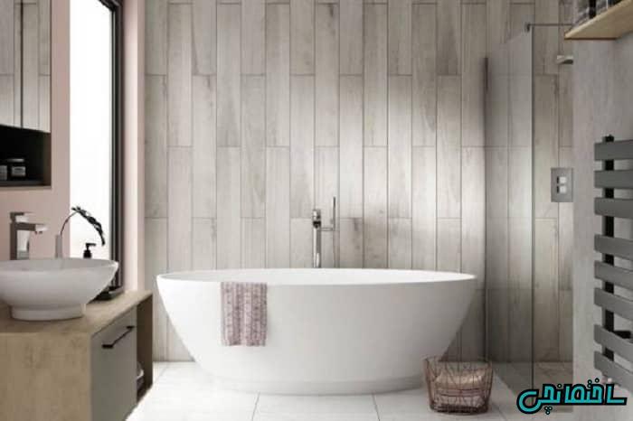 %عکس - انواع دیوارپوش ضد آب حمام و سرویس بهداشتی