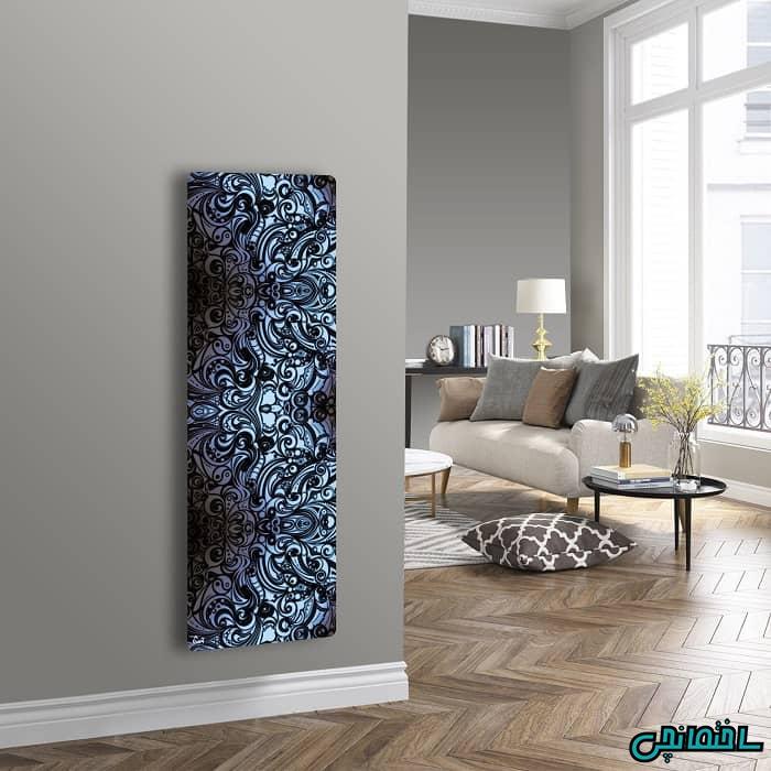 رادیاتور دکوراتیو شیشه ای