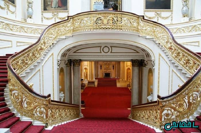 راه پله گرد سلطنتی