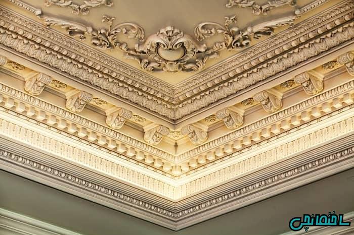 پتینه کاری سقف