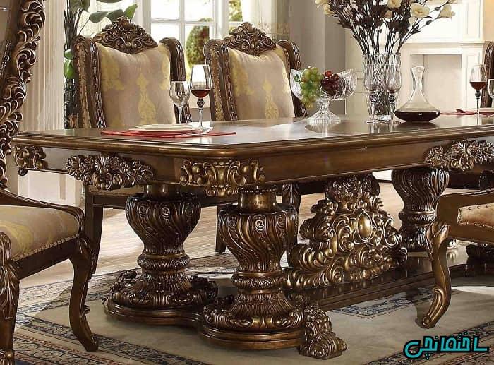 میز و صندلی سلطنتی آشپزخانه