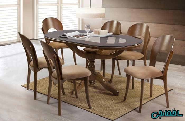 میز و صندلی چوبی