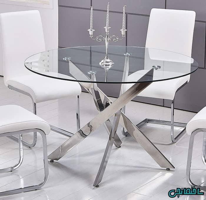 میز و صندلی استیل