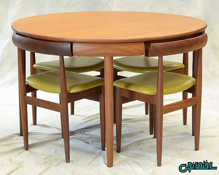 میز و صندلی چهارنفره