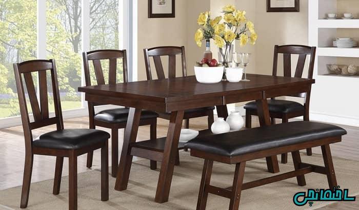 میز و صندلی شش نفره