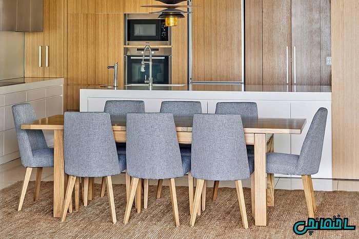 میز و صندلی هشت نفره
