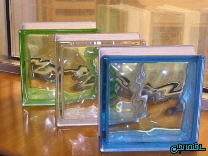 بلوک شیشه ای بازیافتی