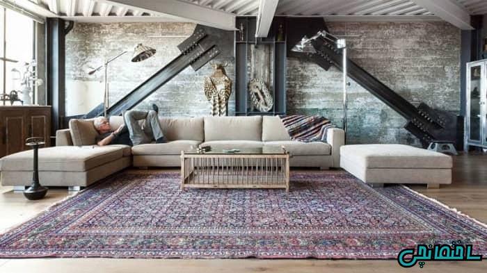 فرش دستباف در طراحی مدرن