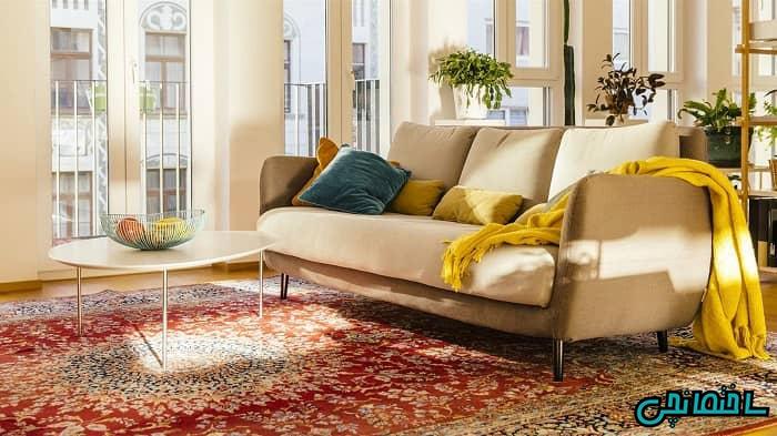 فرش دستباف در دکوراسیون کلاسیک
