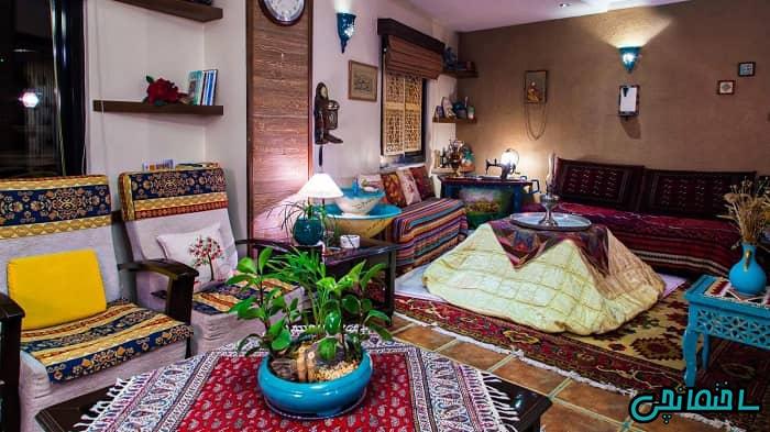 فرش دستباف در دکوراسیون سنتی