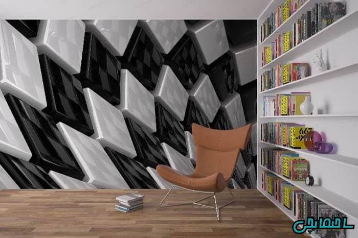 مدل کاغذ دیواری سه بعدی