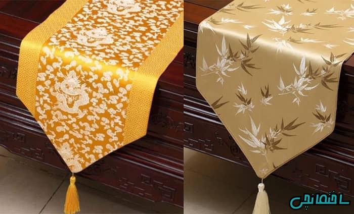 رومیزی طلایی