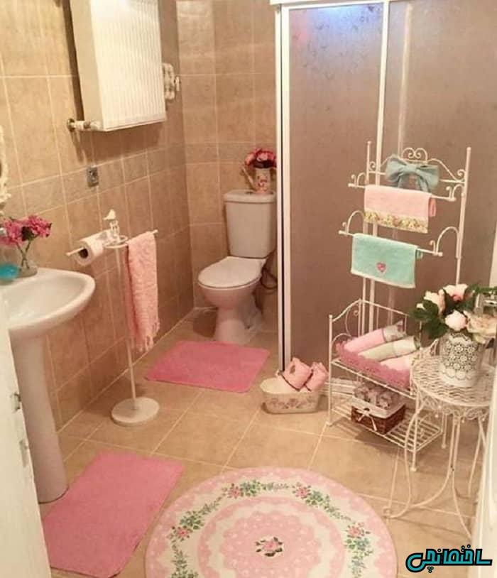 تزیین حمام و سرویس بهداشتی عروس