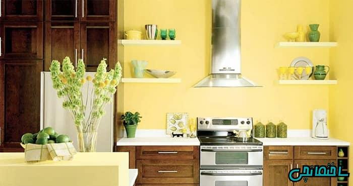 فنگ شویی رنگ آشپزخانه