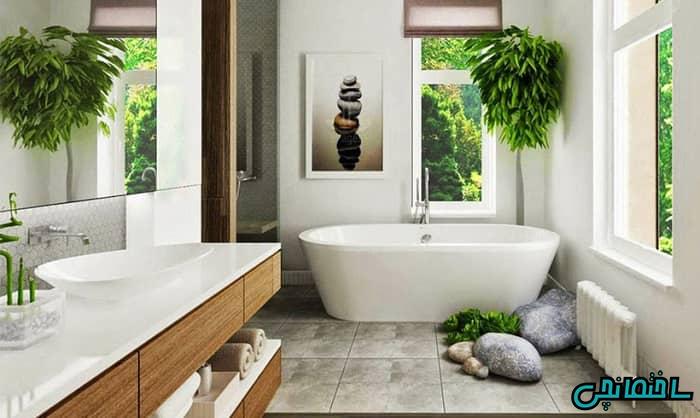 فنگ شویی گیاهان در حمام