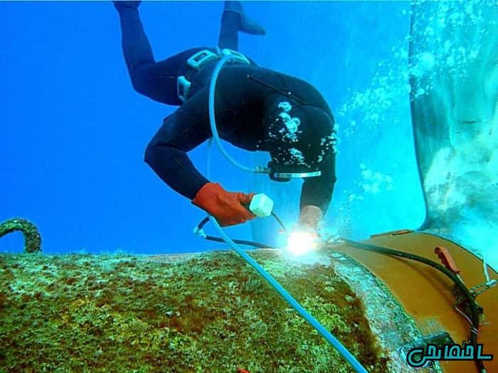 جوشکاری مرطوب در زیر آب
