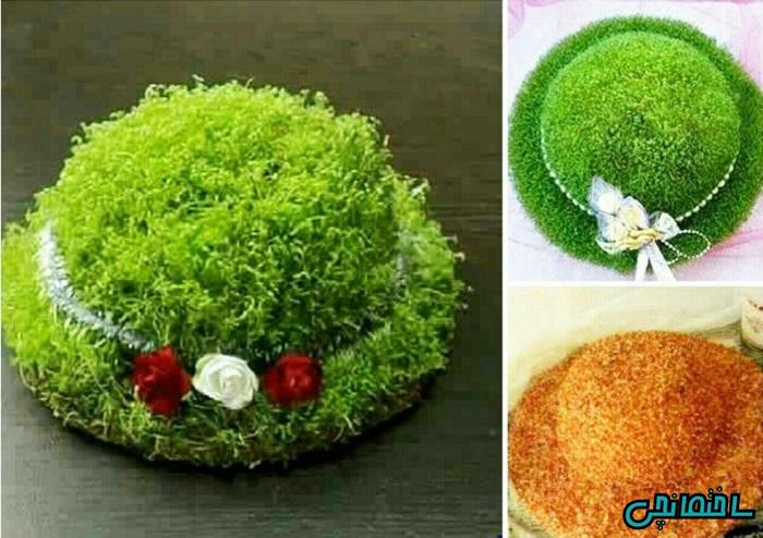 کاشت سبزه عید با خاکشیر