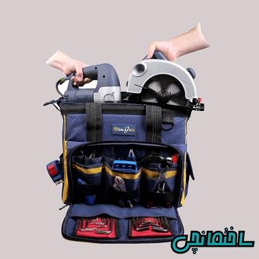 %عکس - راهنمای خرید انواع کیف ابزار[دستی،کوله پشتی و چرخ دار]