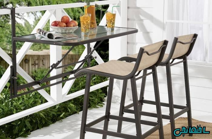 مبلمان و میز و صندلی برای تراس